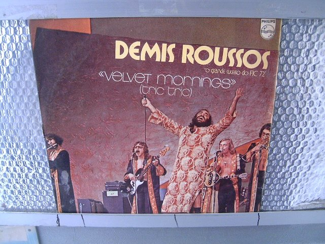 DEMIS ROUSSOS velvet mornings LP 1972 ROCK**