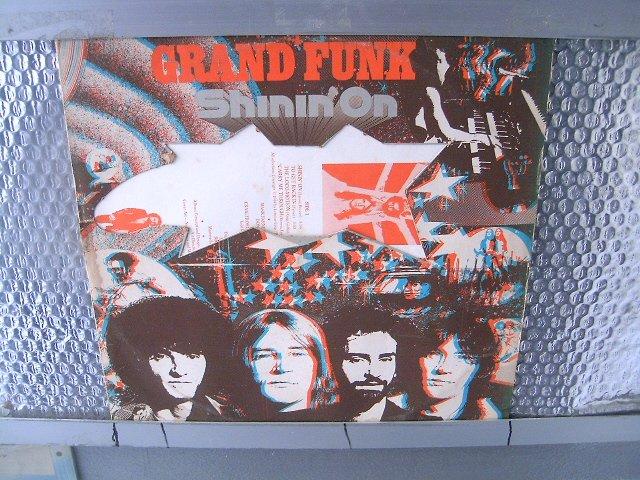 GRAND FUNK shinin' on LP 1974 ROCK MUITO RARO VINIL
