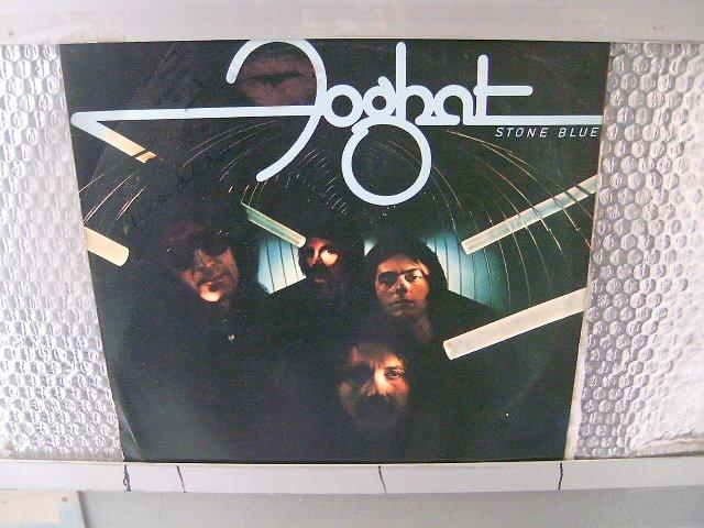 FOGHAT stone blue LP 1978 ROCK MUITO**