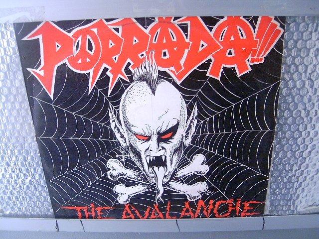 PORRADA the alanche LP 1992 GRINDCORE**