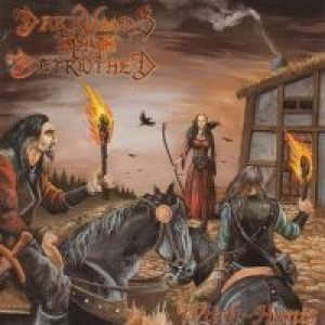 DARKWOODS BY BETROTHED witch - hunts CD 2007
