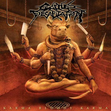 CATTLE DECAPITATION karma bloody karma CD 2006 DEATH METAL