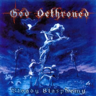 GOD DETHRONED bloody blasphemy CD 1999 DEATH METAL
