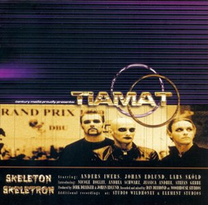 TIAMAT skeleton skeletron CD 1999 GOTHIC ROCK