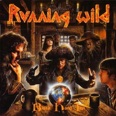 RUNNING WILD black hand inn CD 1999 HEAVY METAL