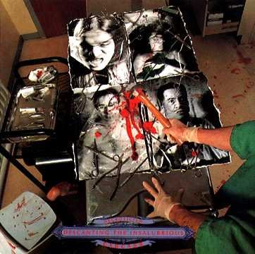 CARCASS necroticism - descanting the insalubrious CD 1991 DEATH GRINDCORE