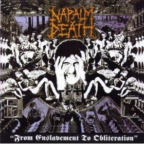 NAPALM DEATH from enslavement to obliterarion CD 1988 GRINDCORE
