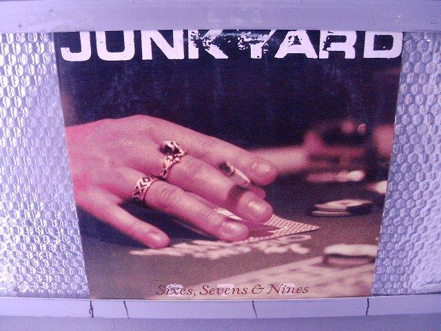 JUNYARD sixies, sevens & nines LP 1991 HARD ROCK MUITO RARO VINIL