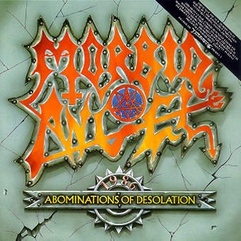 MORBID ANGEL abominations of desolation CD 1991 DEATH METAL