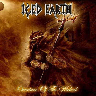 ICED EARTH overture of the wicked DIGIPACK CD 2007 HEAVY METAL