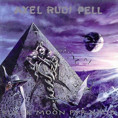 AXEL RUDI PELL black moon pyramid CD 1996 HEAVY ROCK