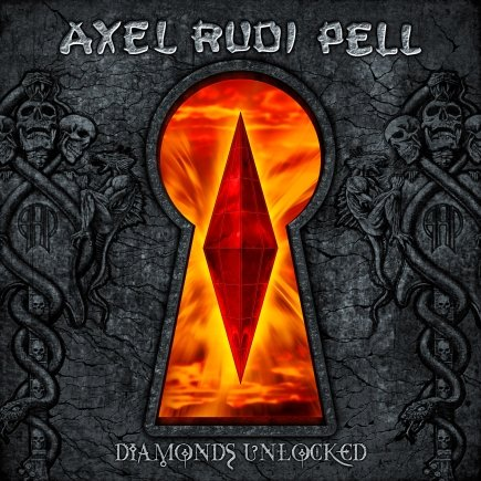 AXEL RUDI PELL dyamonds unlocked CD 2007 HEAVY ROCK