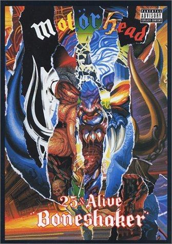 MOT�RHEAD 25 & alive boneshaker DVD 2001 ROCK N' ROLL