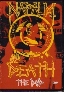 NAPALM DEATH the dvd DVD 2001 GRINDCORE**