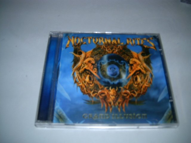 NOCTURNAL RITES grand illusion CD 2005 HEAVY METAL
