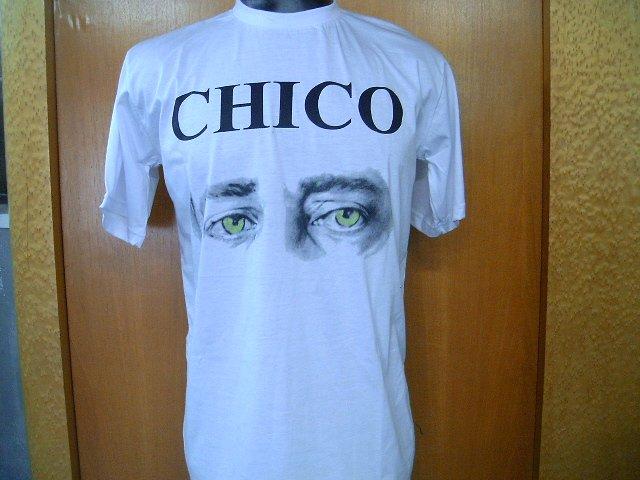 CHICO BUARQUE T SHIRT  WHITE L