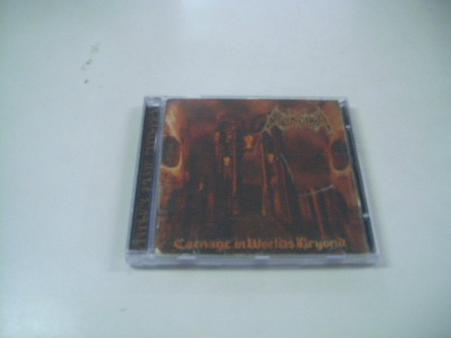 ENTHRONED carnage in worlds beyond CD 2002 BLACK METAL