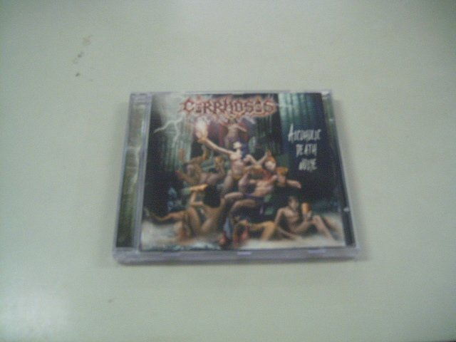 CIRROSHIS alcoholic death noise CD 2002 DEATH METAL