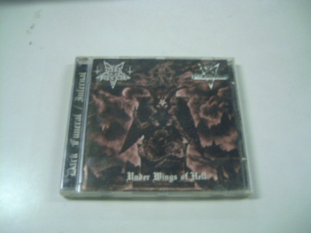 DARK FUNERAL / INFERNAL under the wings of hell SPLIT CD 1998 BLACK METAL