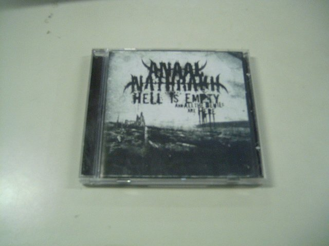 ANAAL NATHRAKH hell is empty and all the devils are here CD 2007 DEATH METAL