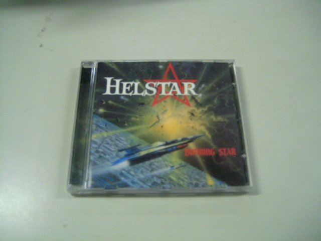 HELLSTAR burning star CD 1999 HEAVY METAL