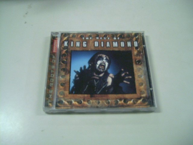 KING DIAMOND the best of CD 1990 HEAVY METAL