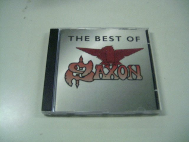 SAXON the best of CD  1994 HEAVY METAL