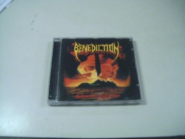 BENEDICTION subconconciouns terror CD 1996 DEATH METAL