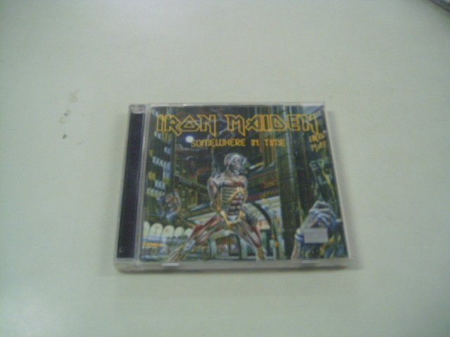 IRON MAIDEN somewhere in time CD 1986 HEAVY METAL