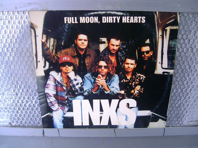 INXS full moon, dirty hearts LP 1993 ROCK POP