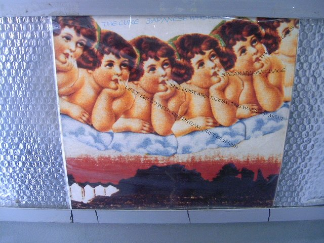 THE CURE japanese whispers LP 1983 POS PUNK