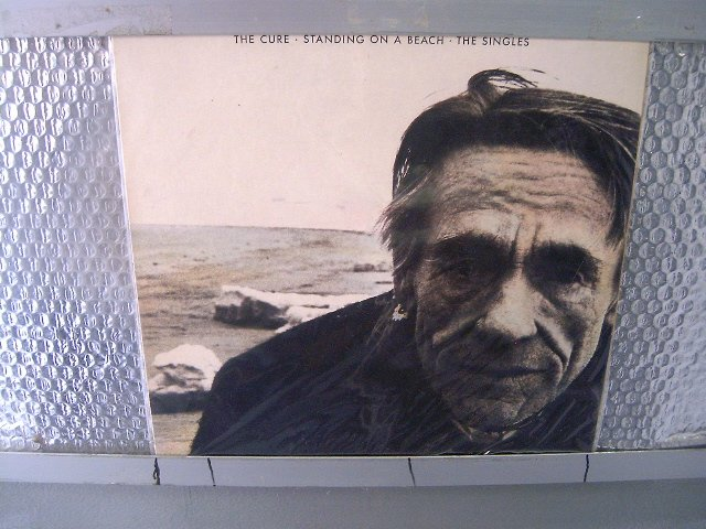 THE CURE standing at the beach - the singles LP 1986 POS PUNK