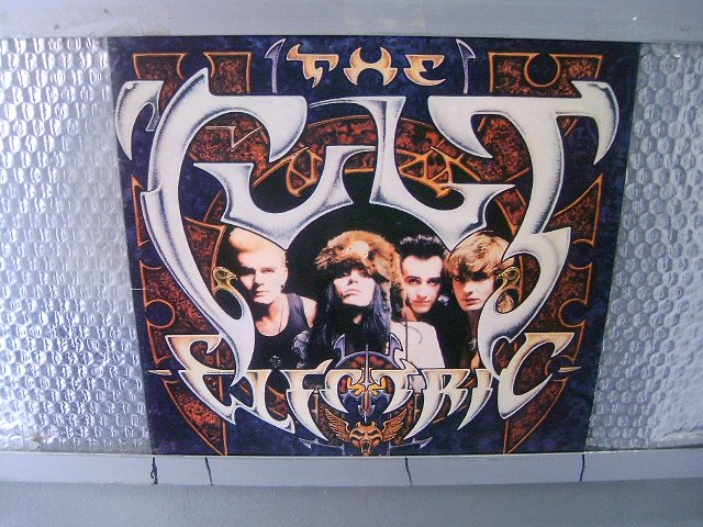 THE CULT electric LP 1987 HARD ROCK