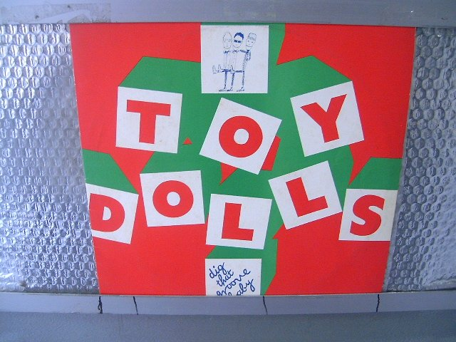 TOY DOLLS dig that groove baby LP 1983 PUNK ROCK