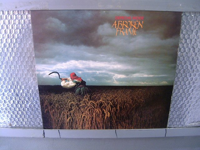 DEPECHE MODE a broken frame LP 1982 SYNYH POP