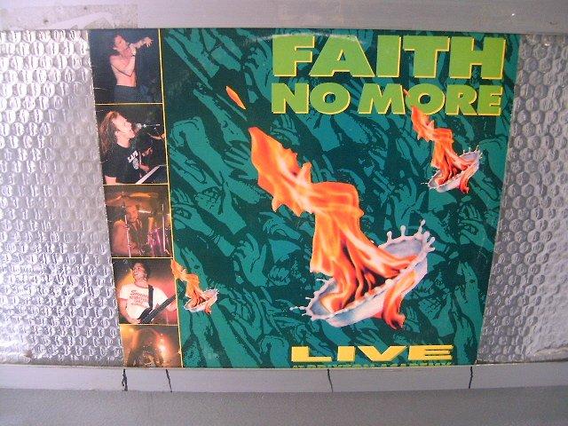 FAITH NO MORE live at the brixton academy LP 1991 ALTERNATIVE ROCK