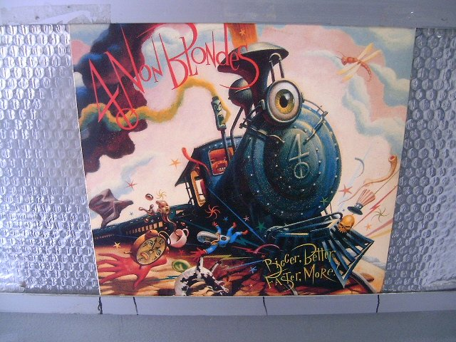 4 NON BLONDIES bigger, better, faster, more! LP 1992 ROCK POP