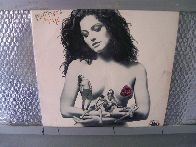 RED HOT CHILLI PEPPERS mothers milk LP 1992 FUNK ROCK