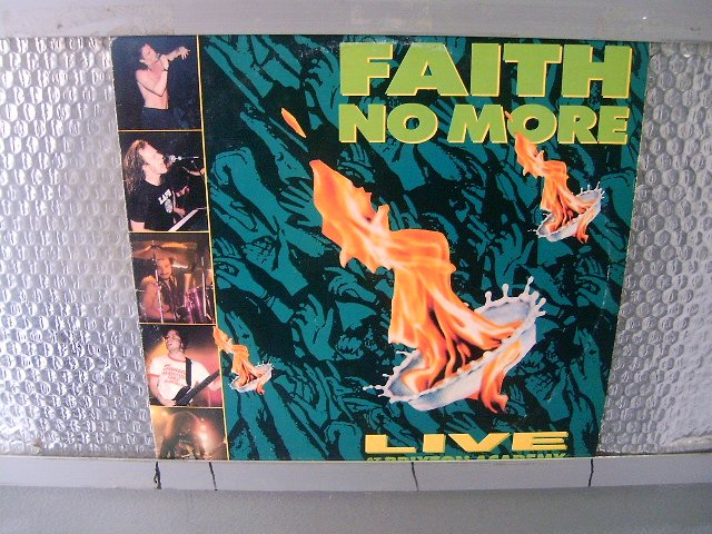 FAITH NO MORE live at the brixton academy LP 1991 ALTERNATIVE ROCK METAL