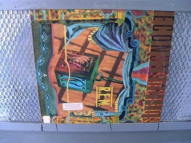 REM fables of the reconstruction LP 1985 ROCK POP