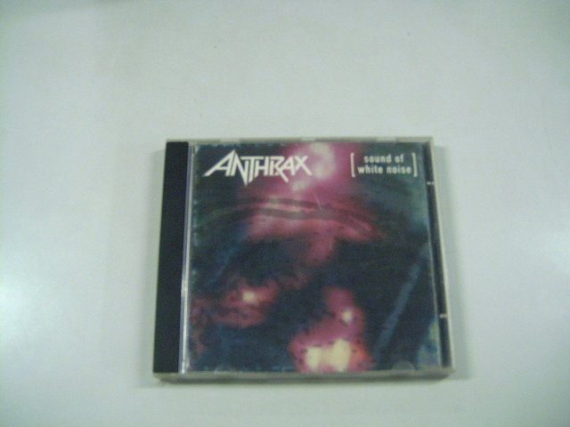 ANTHRAX sound of white noise CD 1993 THRASH METAL