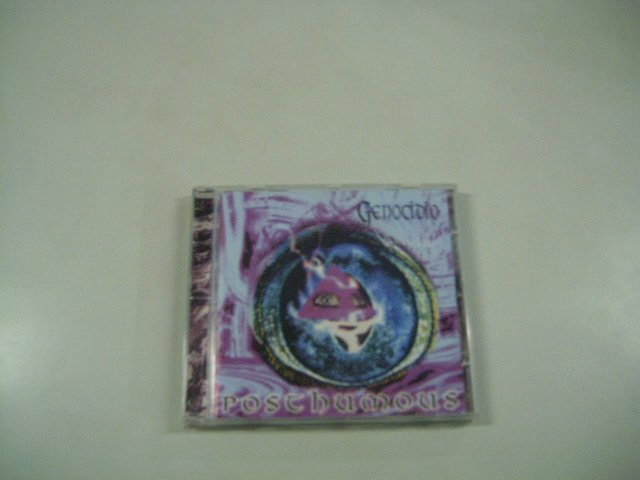 GENOCIDIO posthumous CD 1996 DEATH METAL