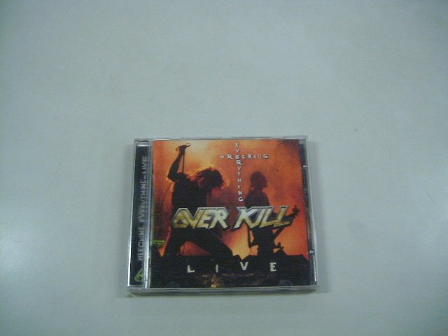OVERKILL wrecking everything CD 2002 THRASH METAL