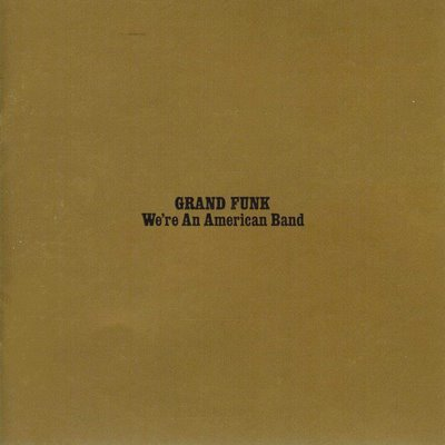 GRAND FUNK we're an american band CD FORMATO MINI VINIL 1973 ROCK