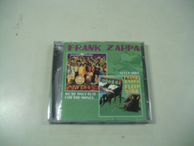 FRANK ZAPPA we're only in it for the money sleep dirty CD 1968 1979 JAZZ ROCK