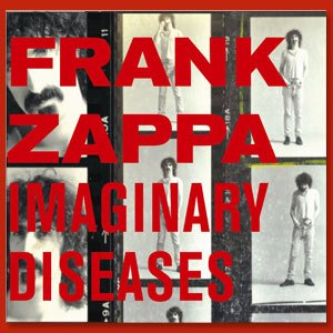 FRANK ZAPPA imaginary diseases CD 1972 PSICHEDELIC JAZZ ROCK