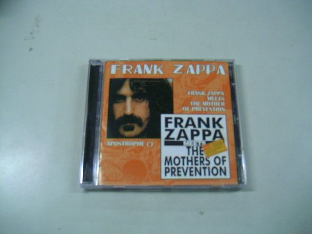 FRANK ZAPPA apostrophe frank zappa meets the mother of prevention CD 1974 1985 JAZZ