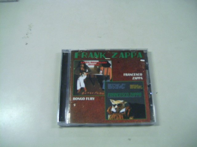 FRANK ZAPPA bongo fury francesco zappa CD 1975 1984 PSECHEDELIC JAZZ ROCK