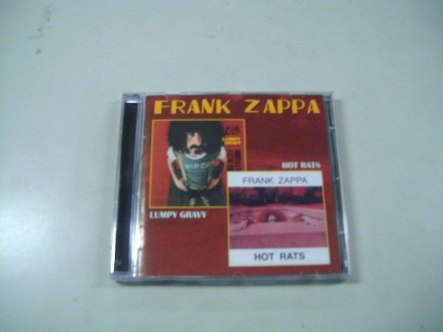FRANK ZAPPA lumpy hot rats CD 1967 1969 PSECHEDELIC JAZZ ROCK