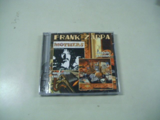 FRANK ZAPPA absolutely free over-nite sensation CD 1967 1973 PSECHEDELIC JAZZ ROCK